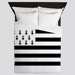 Brittany flag Queen Duvet
