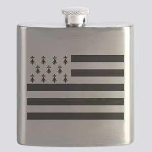 Brittany flag Flask