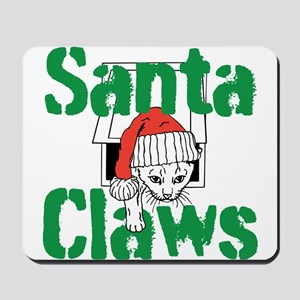 Santa Claws Mousepad