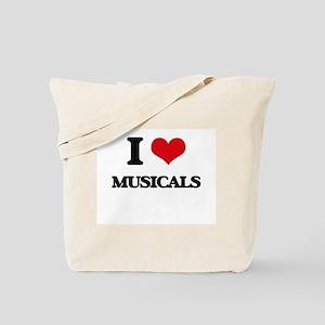 I Love Musicals Tote Bag