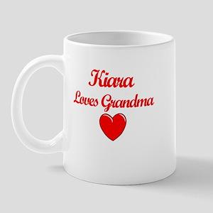 Kiara Loves Grandma Mug