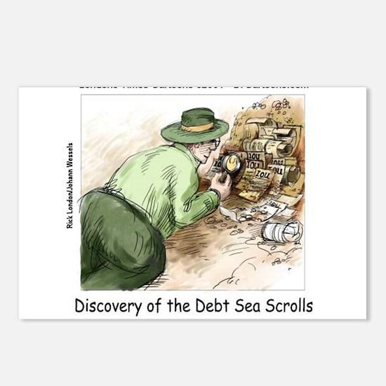 Debt Sea Scrolls Postcards (Package of 8)