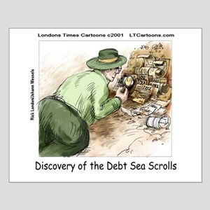 Debt Sea Scrolls Posters