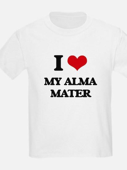 I Love My Alma Mater T-Shirt
