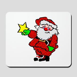 Santa Claus with Star Mousepad