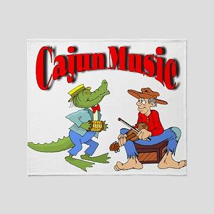 cajun music Throw Blanket