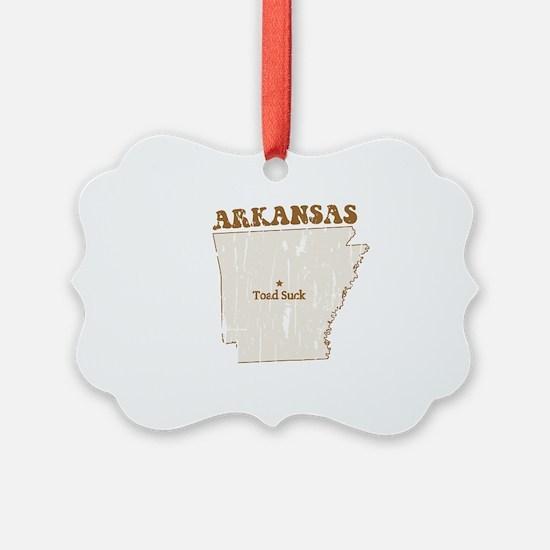 Vintage Toad Suck, Arkansas Ornament