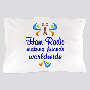 Ham Radio Worldwide Pillow Case