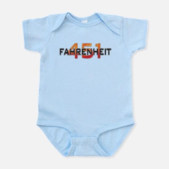 Fahrenheit 451 Logo Body Suit