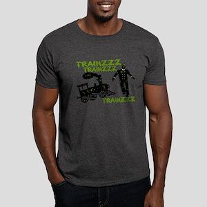 Zombie Train Conductor Dark T-Shirt
