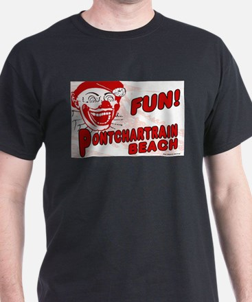Pontchartrain Beach Clown T-Shirt
