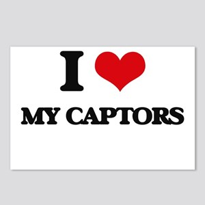 I love My Captors Postcards (Package of 8)