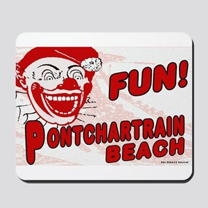 Pontchartrain Beach Clown Mousepad