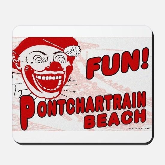 Pontchartrain Beach Clown Mousepad