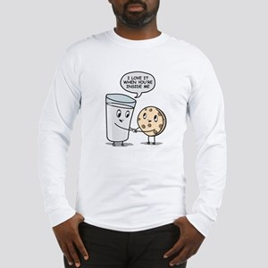 Milk and Cookies Long Sleeve T-Shirt
