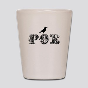 Poe Shot Glass