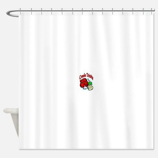 Creole Trinity Shower Curtain
