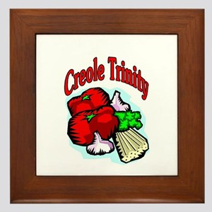 Creole Trinity Framed Tile