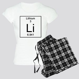 3. Lithium Women's Light Pajamas