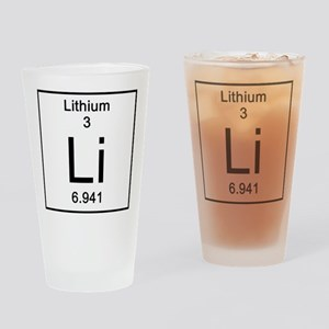 3. Lithium Drinking Glass