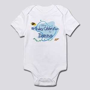 Celebration for Danna (fish) Infant Bodysuit