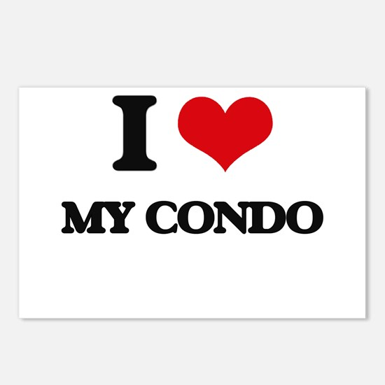 I love My Condo Postcards (Package of 8)