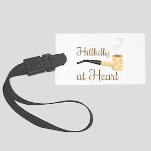 Hillbilly at Heart Luggage Tag