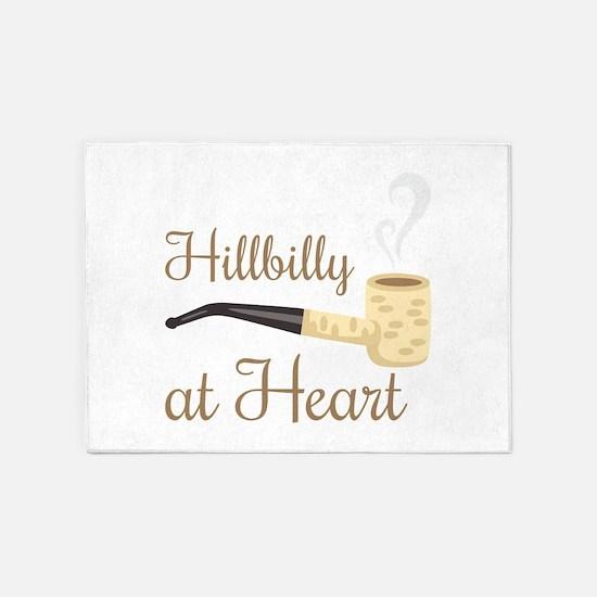 Hillbilly at Heart 5'x7'Area Rug