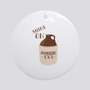 Shine On Ornament (Round)