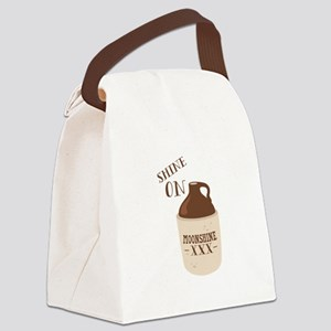 Shine On Canvas Lunch Bag