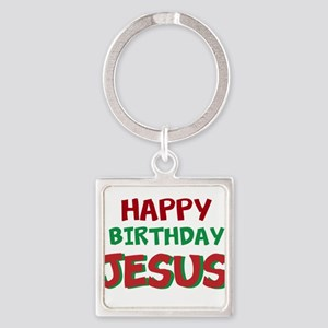 Happy Birthday Jesus Keychains