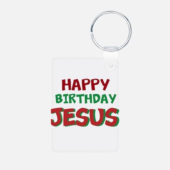 Happy Birthday Jesus Keychains