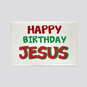 Happy Birthday Jesus Magnets
