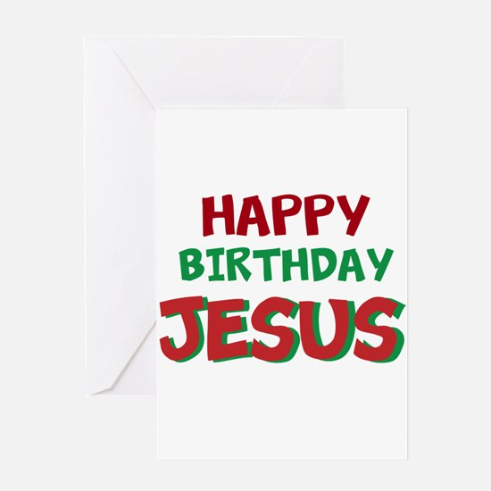 Happy Birthday Jesus Greeting Cards