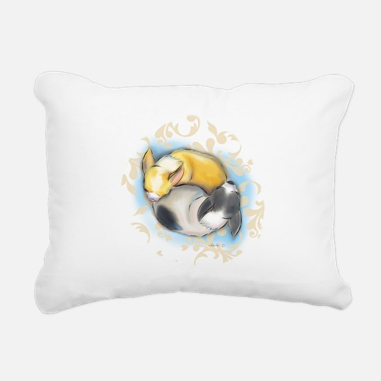 Sleeping Chihuahuas ByCatiaCho Rectangular Canvas