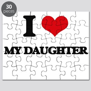 I Love My Daughter Puzzle