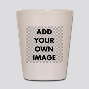 Custom add image Shot Glass