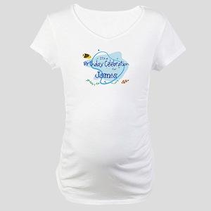 Celebration for James (fish) Maternity T-Shirt