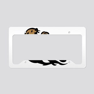 Sea otter License Plate Holder