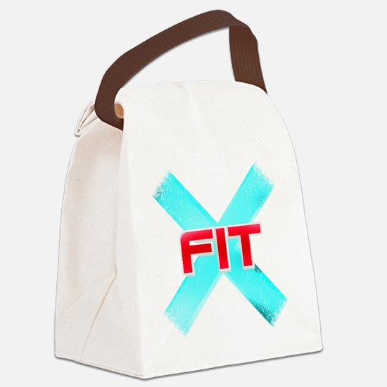 Funny Cross fit Canvas Lunch Bag
