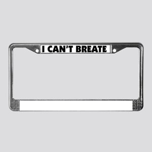 Bumpersticker License Plate Frame