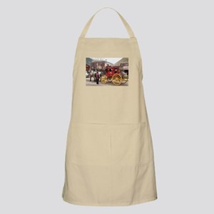Horses and stagecoach, Colorado, USA Apron