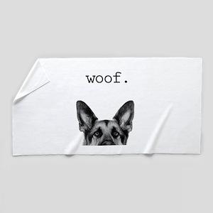 Woof4 Beach Towel