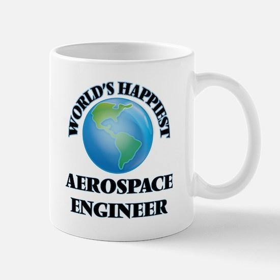 World's Happiest Aerospace Engineer Mugs