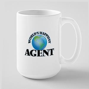 World's Happiest Agent Mugs