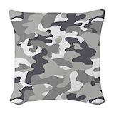 Urban camouflage Woven Pillows