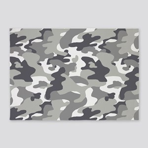 Urban Camouflage 5'x7'Area Rug
