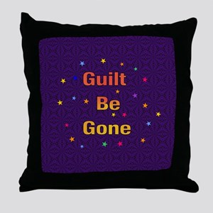 Guilt Be Gone Amulet Throw Pillow