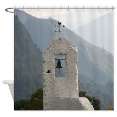 Faux Tower Shower Curtain