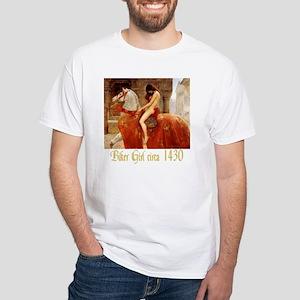Collier Lady Godiva White T-Shirt